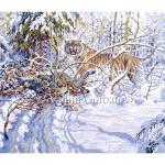 Amur tiger with prey Vadim Gorbatov Амурский тигр с добычей