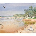 Река Урал у Лбищенска