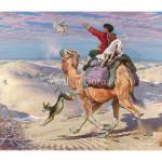 Соколиная охота в Туркмении