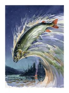 Рисунки для книги В. Пажетнова