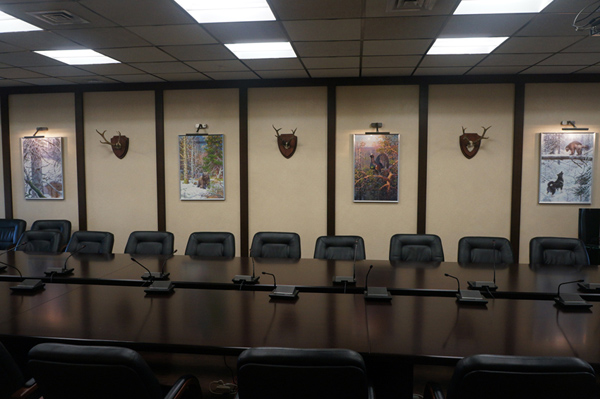 print on canvas boardroom RORS